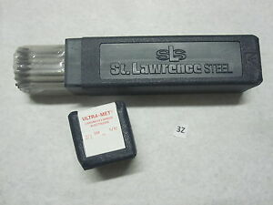 New 10 St Lawrence Steel Ultra met Chromium Carbide Electrodes 63 68 Rc 5 32