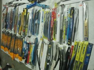Wholesale Lot Of 100 Bosch Rainx Goodyear Aero Etc Windshield Wiper Blades