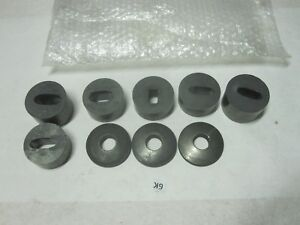 6 Shop Made Sheet Metal Punching Dies Button 3 Spherical Washers
