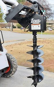 Bobcat Skid Steer Attachment Lowe 750 Classic Hex Auger 18 Bit Ship 199