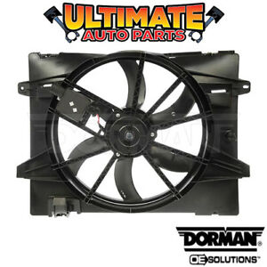 Radiator Cooling Fan 4 6l For 06 11 Ford Crown Vic Victoria W Controller