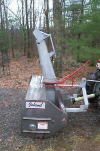 Inland Sa 73 72 3 Pt Pto Two stage Snow Blower In Pa Buhler Farm King