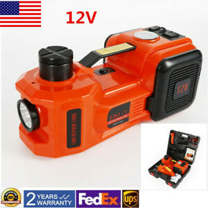 10 Bar Lift Lifting Set With Impact Wrench 3t Electric Hydraulic Floor Jack Us