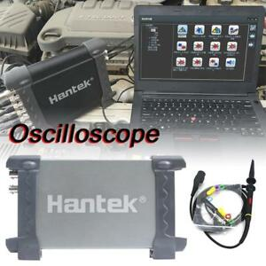 Hantek 6022be Digital Oscilloscope 2channels 20mhz Portable Pc Usb Handheld