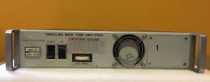 Hughes 1177h01r000 2 To 4 Ghz 10 W 30 Db Gain N f Twt Amplifier For Parts