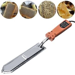 Electric Uncapping Extractor Knife Bee Supply Hive Honey Beekeeping Scraping Kit
