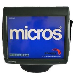 Micros Pos Workstation 5 Ws5 Computer No Stand