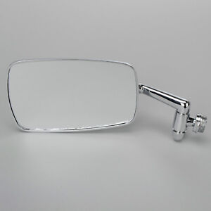 Vw Chrome Side Rear View Mirror Left 1968 1979 Volkswagen Beetle Convertible