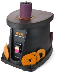 Wen Spindle Sander 1 2 Hp 3 5 Amp Oscillating Dust Port Lockout Power Switch