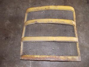 Farmall Ih Cub Tractor Original Ih Hood Front Nose Cone Bar Grill W Screen