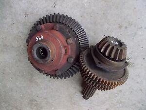 Farmall 560 Tractor Transmission Matched Set Of Drive Ring Pinion Gears