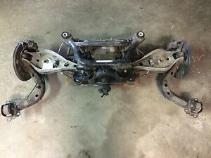 E46 M3 Complete Rear End Lsd Swap For Non m Differential Axles Trailing Arms