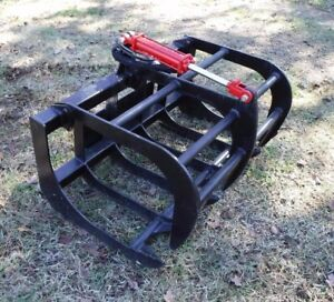 Toro Dingo Mini Skid Steer Attachment 48 Single Cylinder Root Grapple Bucket