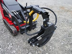 Toro Mini Skid Steer Attachment Branch Manager Log Grapple Free Ship