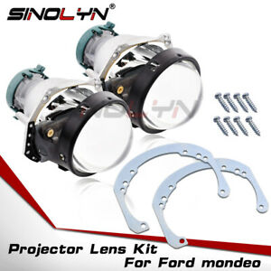 Hid Bi xenon Projector Lens Replacement For Ford Mondeo Mk4 Headlight Retrofit