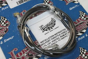 Lokar Hi Tech Throttle Cables Camaro Firebird Ls1 Lsx Swap Gm Chevy Tc 1000ls1u