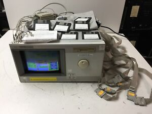 Hp Agilent Keysight 16500c Logic Analysis System W Cables Software