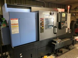2018 Doosan Puma 2600sy Sub Spindle Y Axis Super Low Hours Hardly Used