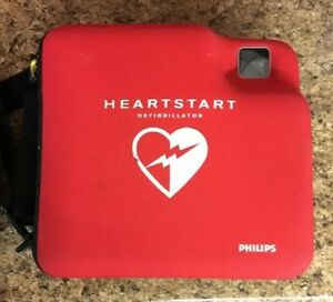 Philips Heartstart Fr2 Aed Defibrillator With Carrying Case