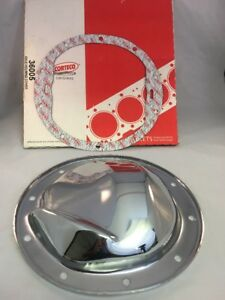 10 Bolt Rear End Differential Cover 1964 96 Chevy Chrome 8 1 2 Ring Gear