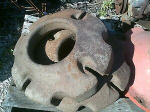 Avery Tractor Rear 145lb Originl Avery Weight Weights Pair set Rare Hard To Find