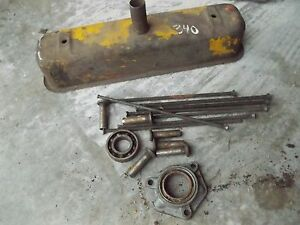 International 340 Tractor Ih Engine Motor 8 Push Rods 6 Lifters Valve Cover