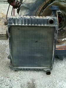 International 1066 Tractor Ihc Good Working Engine Motor Radiator Assembly
