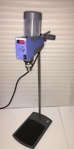 Ika Digital Mechanical Overhead Stirrer Rw 20 Dzm n With Stand