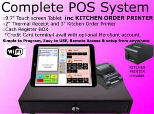Pos System kitchen Printer Bar Restaurant Pizza Takeout Night Club Cafe Coffee