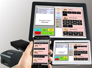 Multi User Pos System Bar Restaurant Point Of Sale Cash Register Isnt Aldelo