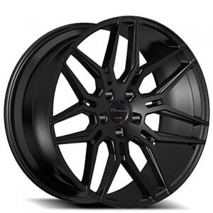 24 Giovanna Wheels Bogota Black Rims Fs
