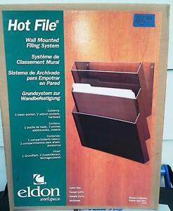 Eldon Hot File Wall Mounted Filing System New In Box