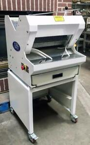 Abs sinmag Pc 16 1 2 Slicing Blades Bread Food Slicer On 24 Rolling Stand