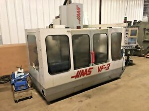 Haas Vf 3 Cnc Vertical Machining Center Year 1995