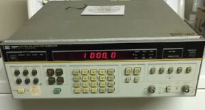 Hp 3325a Synthesizer function Generator Hewlett Packard