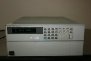 Hp Agilent N3300a Electronic Load Qty 4 N3304a Qty1 N3306a Calibrated Warranty