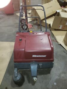 Minuteman Kleen Sweep 35w Scrubber Working Perfectly Power Charger Free Ship