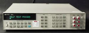 Hp Keysight 3458a Opt 002 Digital Multimeter 8 Digit Calibrated With Data