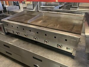 Vulcan 5ft Gas Flat Griddle Thermostatically Controlled