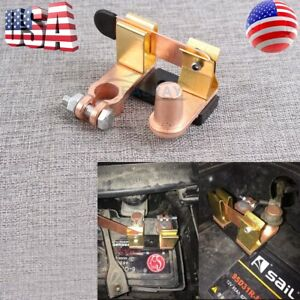 Battery Disconnect Knife Blade Shut Cut Off Switch Top Post Heavy Duty Terminal