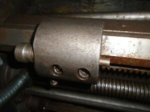 Colchester Triumph Or Clausing 15 Inch Lathe Micro Bed Stop
