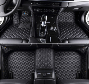 For Dodge Charger 2015 2018 Floor Mats All weather Waterproof Pads Car Mat