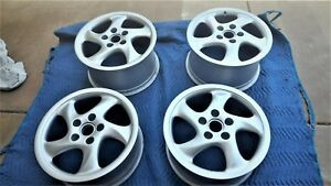 Porsche 993 911 Hollow Spoke Turbo Twist Wheels 18