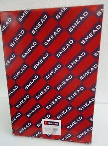 Smead Red End Tab Out Guides With Pockets Poly Letter Size 25 box smd61950