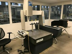 Zeiss Eclipse 282820 Coordinate Measure Machine Calibrated March 2018