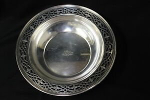 Tiffany Co Sterling Silver Fruit Bowl 10 1 4 Diameter