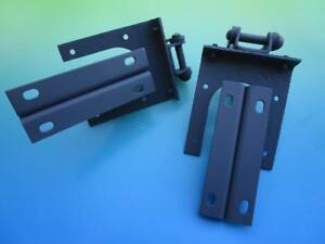 Pair Of Reconditioned Primed Bonnet Hood Hinges For Sunbeam Alpine And Tiger