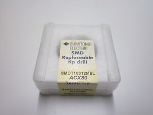 New Sumitomo Smdt10312mel Acx80 1 1 32 Carbide Smd Replaceable Drill Tip