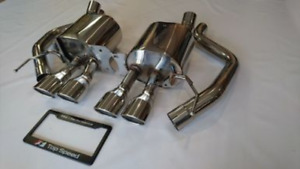 Top Speed Pro 1 Axle Back Exhaust System For 2014 18 Chevy Corvette C7 Stingray
