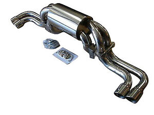 Top Speed Pro 1 Exhaust System Fits 1999 2005 Ferrari 360 Modena Coupe Spider